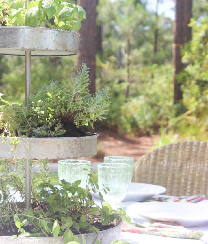 3 tier herb garden