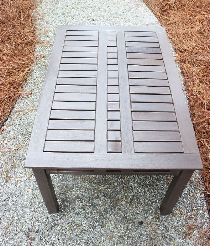 morroccan stenciled table