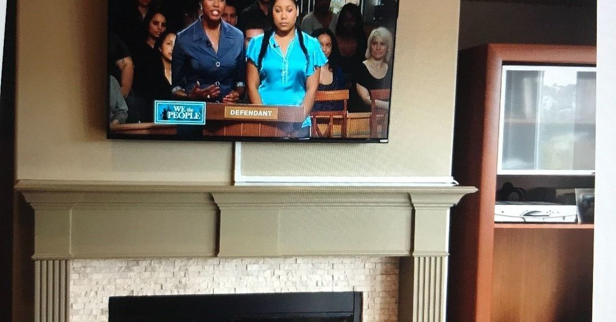How to hide cable wires when mounting tv over fireplace ...
