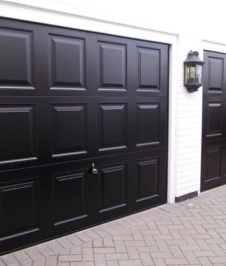 make your neighbors jealous and transform your garage door with paint