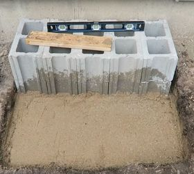 How To Build Cinder Block Steps | Hometalk