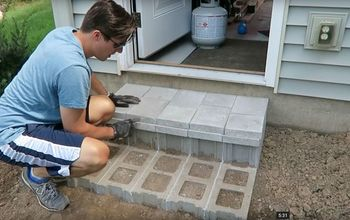 How to Build Cinder Block Steps