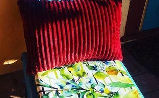 simple patio chair seat redo