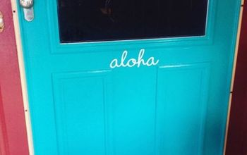 Painted Front Door -- Be Bold and Stand Out!
