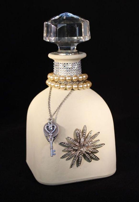 hometalk inspiration for a repurposed vintage glass bottle, My inspiration