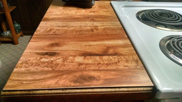 How Can I Cover Ugly Butcher Block Laminate Countertops