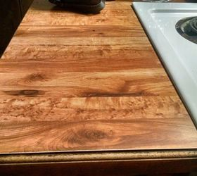 Delicieux Q How Can I Cover Ugly Butcher Block Laminate Countertops