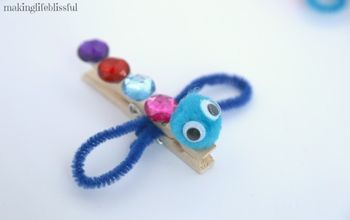 Easy Clothespin Dragonfly Craft