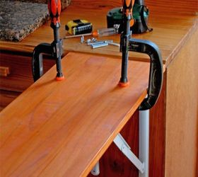 Diy Fold Down Counter Extension For Your Tiny Kitchen