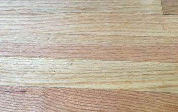 Wood Floor Mark Remover