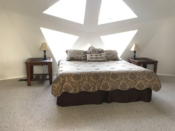 q i have several big triangular skylights how to cover them when is hot
