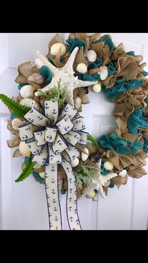 grapevine burlap wreath