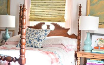 our collected coastal farmhouse master bedroom makeover