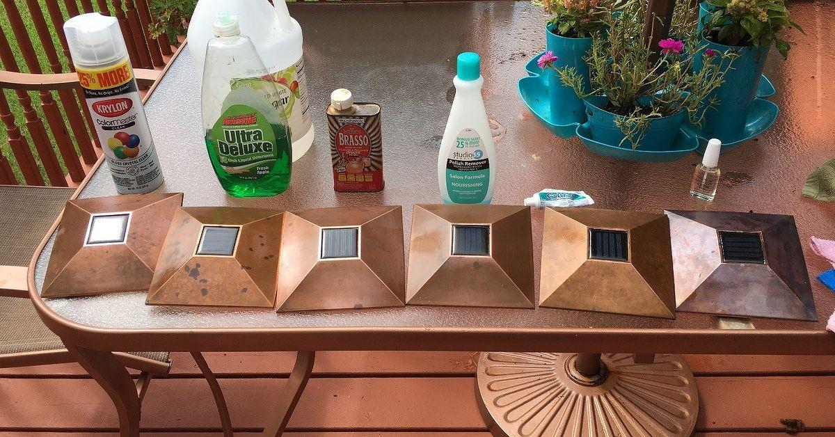 Bringing Light Back Into My Solar Lights Cleaning Challenge Hometalk