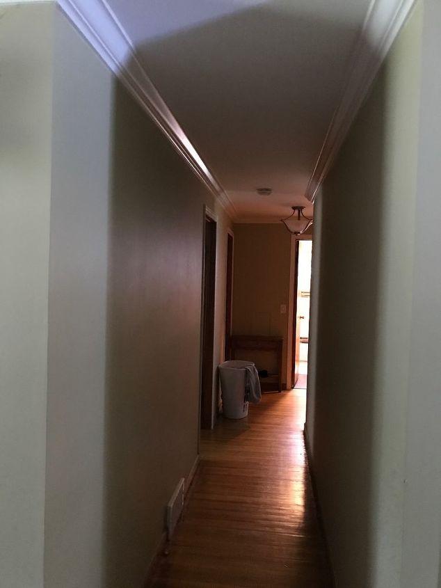 q what type of door to cut down noise in a hallway to bedrooms