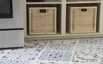 The Secret is Out! How to Stencil a Tile Floor
