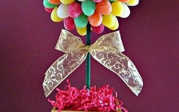 create a gumdrop topiary a sweet diy