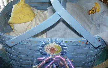 baby shower baby bassinet