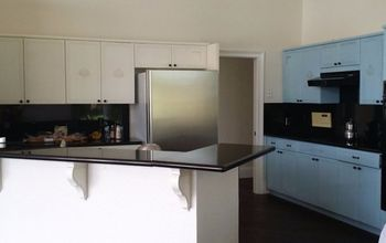 DIY Repainted  Kitchen Cabinet Like A Pro. (Before&After)
