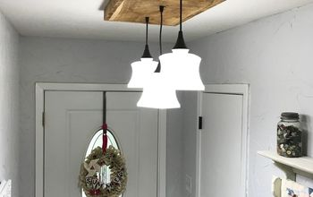 DIY Barn Wood Light Fixture