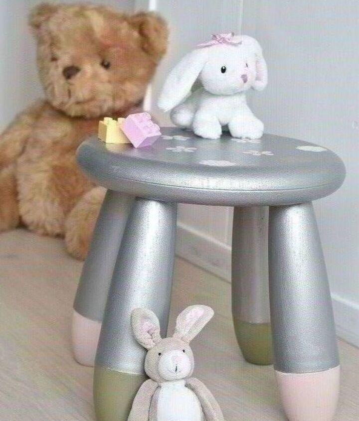 ikea childrens s plastic mammut stool makeover