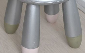ikea childrens s plastic mammut stool makeover