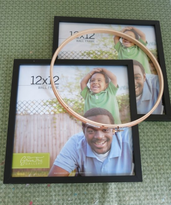 Festive Fall Wreath Made With Picture Frames Hometalk