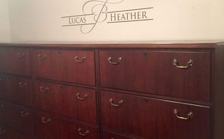 lateral filing cabinet to dreamy dresser in 5 minutes