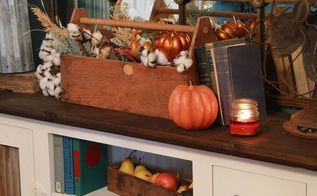fall centerpiece s in 5 minutes