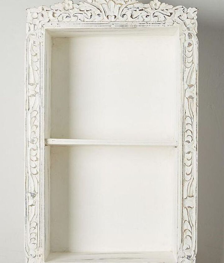 anthropologie inspired storage cabinet