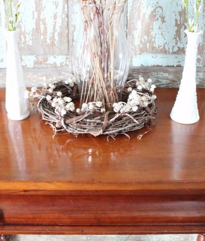refinishing wood furniture to make it look new again with only 2 items