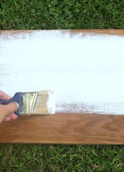 Distressed Wood Sign Diy Tutorial Hometalk