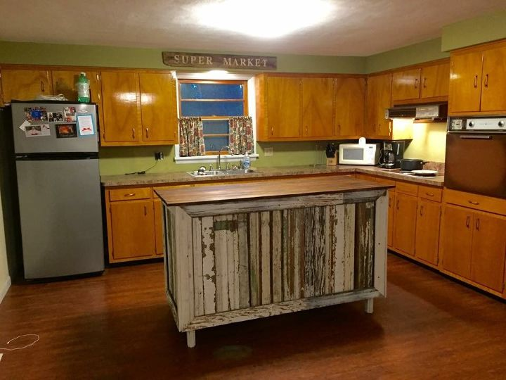 1970s kitchen makeover by junk love boutique - 1970s Kitchen