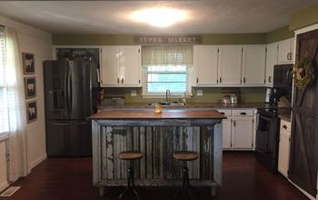 1970s kitchen makeover by junk love boutique