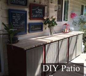 patio storage cabinet diy & Patio Storage Cabinet DIY | Hometalk