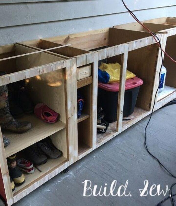 patio storage cabinet diy