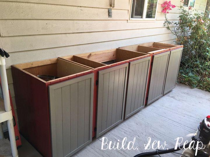 Patio Storage Cabinet DIY – Patio Storage Cabinet Plans