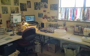 """My """"Croffice""""! That is Craft Room and Office Combined."""