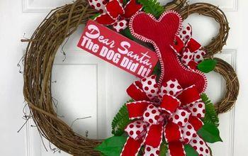 Dog Paw Wreath