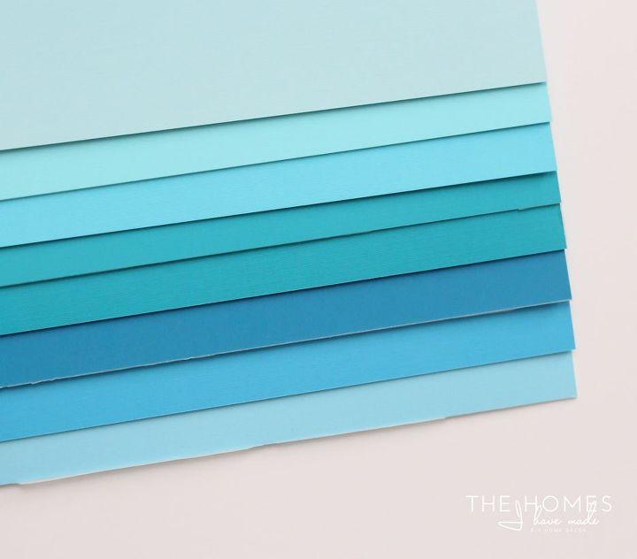 DIY Renter-Friendly, Removeable 3D Paper Wall Art | Hometalk
