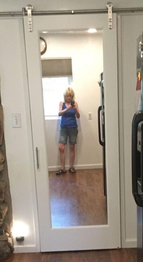 I Have A Barn Door For A Bathroom Door Not Private Enough Hometalk