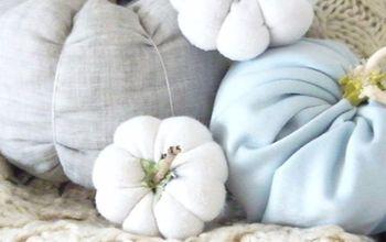 Easy Fall Ideas - DIY Fabric Pumpkins