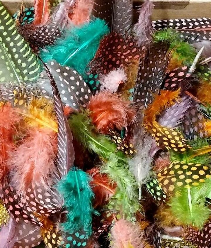 how to dye feathers cheaply