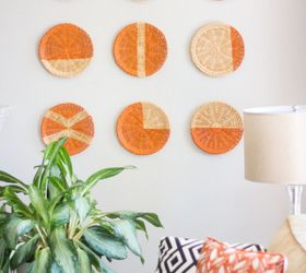 paper plate holders turned chic wall decor  sc 1 st  Hometalk & Paper Plate Holders Turned Chic Wall Decor! | Hometalk