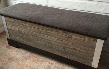 modern rustic cedar chest