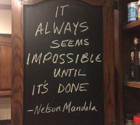 Blackboard Paint Part - 21: Kitchen Cabinet Chalkboard Paint