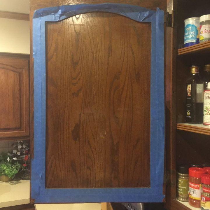 kitchen cabinet chalkboard paint