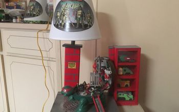 Grandson Equals Love - See His Lamp -Who Doesn't Love The TMNT