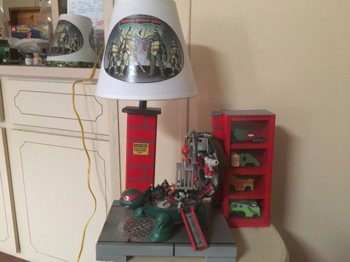 grandson equals love see his lamp who doesn t love the tmnt
