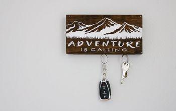 DIY Magnetic Key Holder